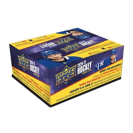 2020-21 Upper Deck Series 2 (24-Pack Retail Box)