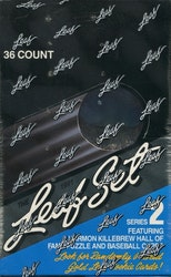 1991 Leaf Series 2 Baseball Wax Box