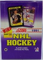 1991-92 Score U.S. (Hobby Box)