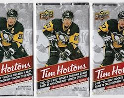 2015-16 Upper Deck Tim Hortons (Löspaket)