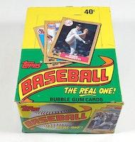 Topps 1987 Baseball Wax Pack Trading Card Box (36 Packs)