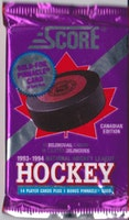 1993-94 Score Hockey (Canadian Edition) (Löspaket)