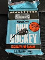 1992-93 Score Hockey (Bilingual Edition) (Jumbo Pack) (Löspaket)
