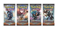 Pokemon Sun & Moon Burning Shadows (Booster Pack)