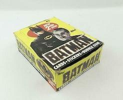 Batman Movie Wax Box (1989 Topps)