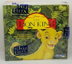 Lion King Series I (Skybox) Trading Cards Box