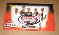 1999 Panini Backstreet Boys Platinum Edition (Paket)