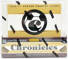 2020-21 Panini Chronicles Soccer (Hobby Box)