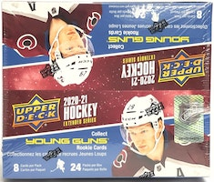 2020-21 Upper Deck Extended (Retail Box)