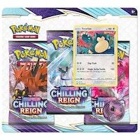 Pokémon, Sword & Shield 6: Chilling Reign, Three Pack Blister