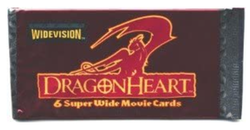 Dragonheart Widevision Factory Sealed Trading Card Pack