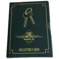 1992 Cars of The World Volume I Trading Card box