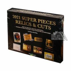 2021 Super Break Super Pieces Relics & Cuts Box