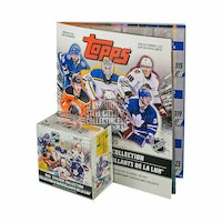 2019-20 Topps NHL Hockey Sticker Collection 50ct Box (with Album!!)