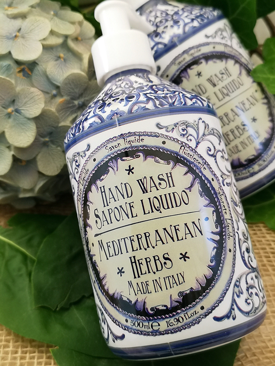 Maioliche Liquid Soap Mediterraean Herbs