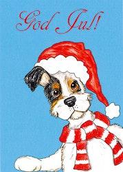 Julkort, Hund & Katt