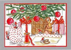 Julkort, 2 olika.