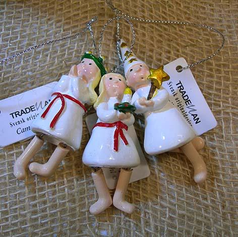 Luciatåg till julgranen, 3-pack