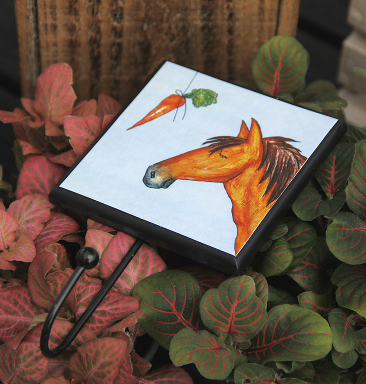 Krok med hästmotiv