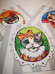 Kort med katter