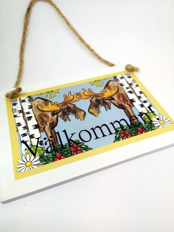 Skylt Välkommen, Sverigemotiv