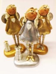 Ängel i guld och silver