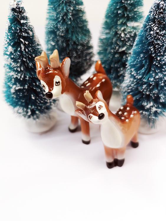Lilla Bambi, 2 storlekar