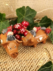 Nissar på julgris
