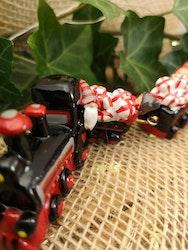 Jultåg i svart och rött