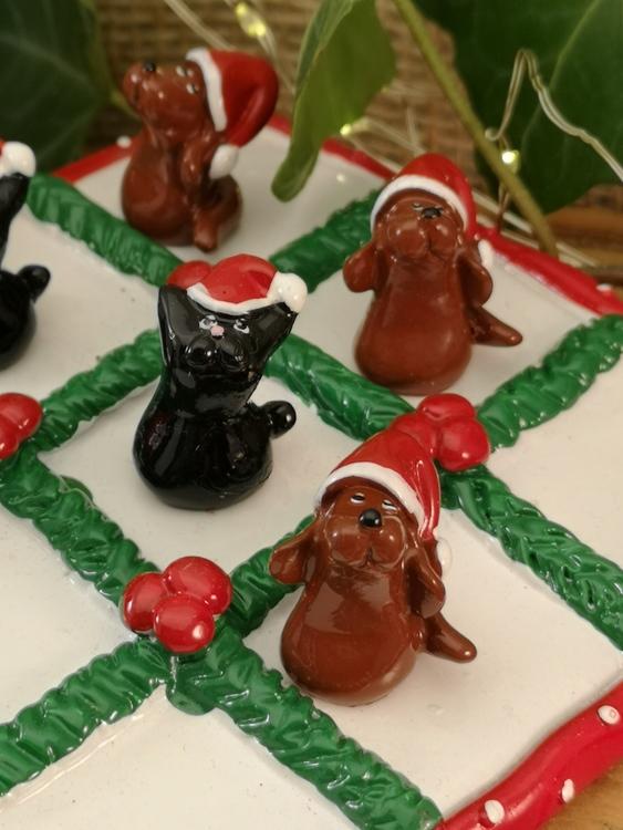 julhund och julkatt spel