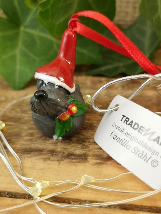 hängande julhund svensk design