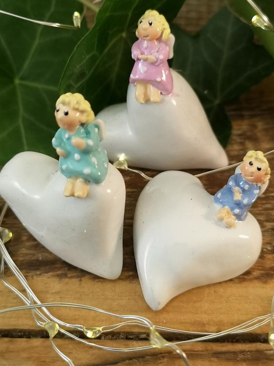 änglar på hjärtan, 3 olika