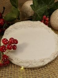 Platta till julfigurer, 2 olika