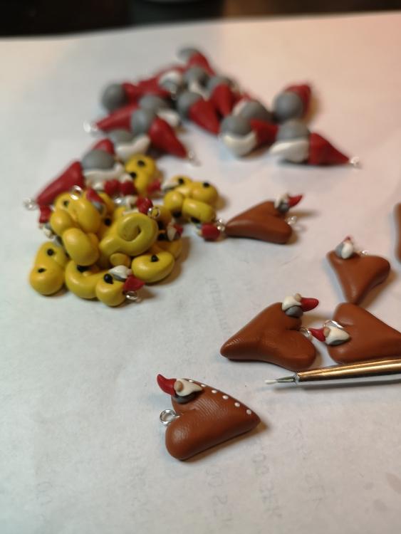 tillverkning av örhängen