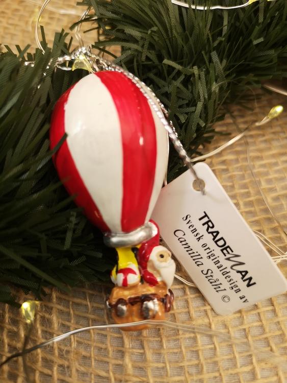 julgranspynt i form av luftballong