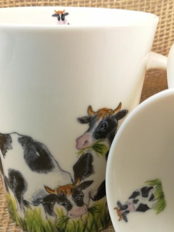 Mugg med kor