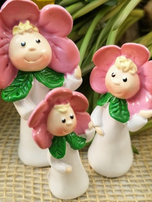 Blomsterbarn, rosa