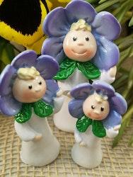 Blomsterbarn, lila