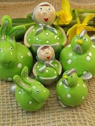 Grönt påskpynt