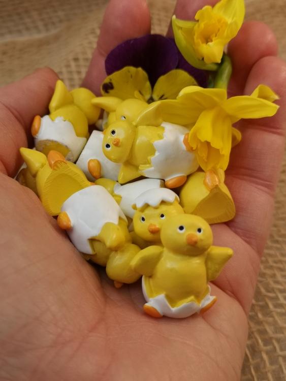 Små minikycklingar 3-pack