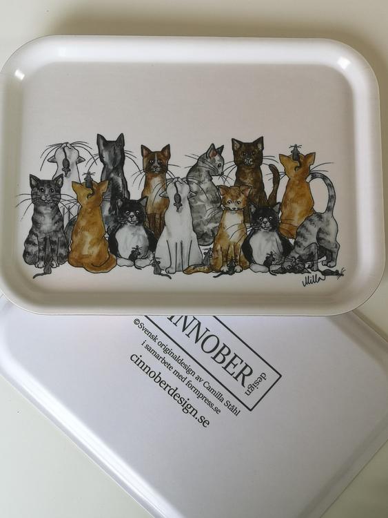 Frukostbricka, katter