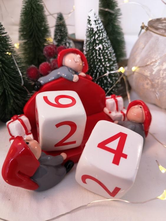 Kalender för julen