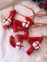 1-4 för adventsljus, julklappar