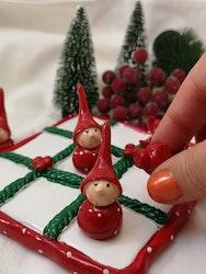 Luffarschack, tomte och julgris