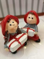Nissar med julklappar
