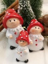 Svampbarn med toppad hatt