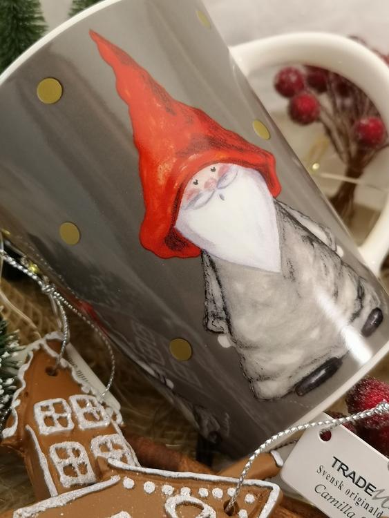 jultomte på kopp