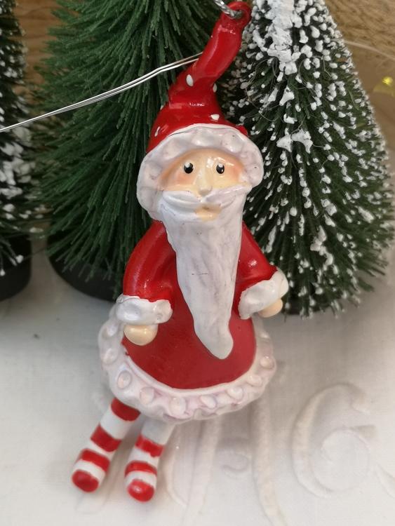 Jultomte röd, hängande