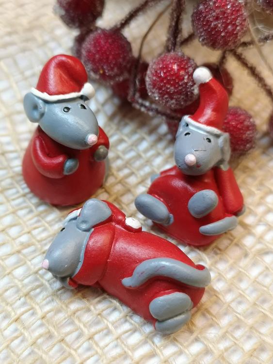 Små julmöss