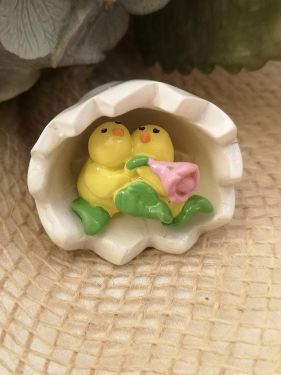 Kycklingar i äggskal